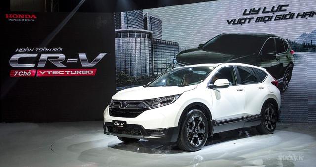 Trước đây Honda CRV cũng được lắp ráp tại Việt Nam, nhưng nay đã được doanh nghiệp nhập từ Thái.