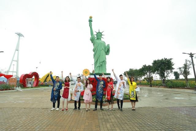 Khai mạc lễ hội hoa kéo dài một tháng tại Sun World Halong Complex - 6