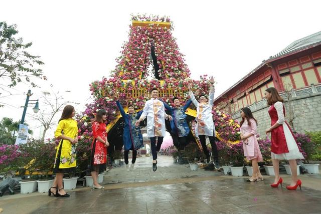 Khai mạc lễ hội hoa kéo dài một tháng tại Sun World Halong Complex - 1