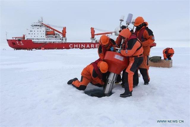 Trung - Nga liên thủ ở Bắc Cực - 1