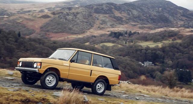 Mẫu Range Rover Reborn