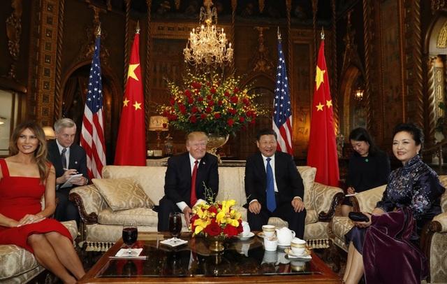 Nơi đây Tổng thống Trump cũng dành để tiếp đón các nguyên thủ thế giới. (Ảnh: Reuters)