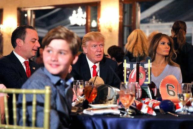 Cho dù ở đâu, Nhà Trắng hay Tháp Trump hay khu nghỉ dưỡng Mar-a-Lago, gia đình ông Trump luôn được đảm bảo an ninh tuyệt đối. (Ảnh: Reuters)