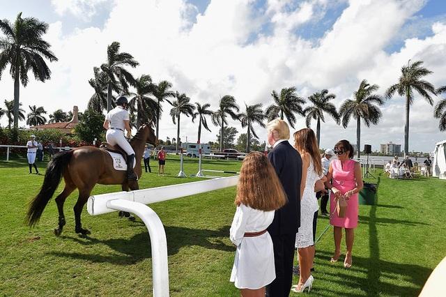Ông Trump mua khu nghỉ dưỡng này từ năm 1985 với giá 8 triệu USD. (Ảnh: Getty)