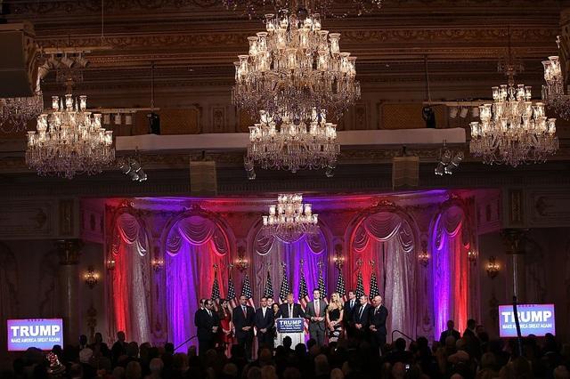 Ông Trump cũng từng tổ chức nhiều sự kiện ở Mar-a-Lago trong chiến tranh tranh cử cũng như sau khi đắc cử. (Ảnh: Getty)
