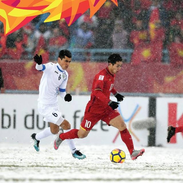 U23 Việt Nam chiếm trọn cảm tình từ CĐV châu Á