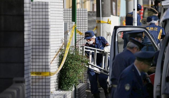 Cảnh sát Nhật Bản làm nhiệm vụ (Ảnh minh họa: AFP)