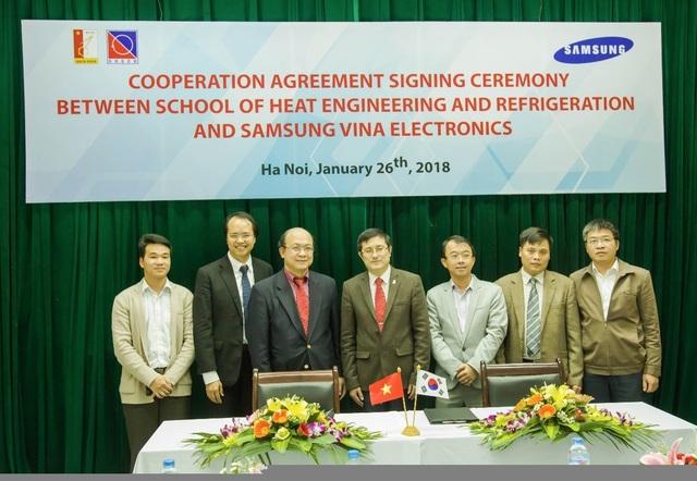 Samsung hợp tác ĐH Bách khoa Hà Nội trong nghiên cứu và đào tạo công nghệ điện lạnh - 1