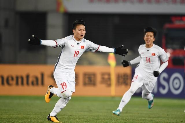 Nguyễn Quang Hải ghi 5 bàn ở giải U23 châu Á