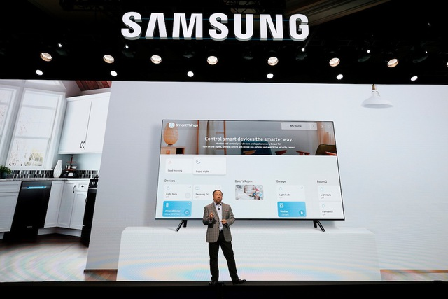 Samsung dẫn đầu màn hình lớn, đi đầu xu hướng TV 8K - 1