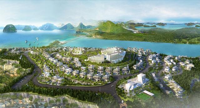 Dự án Monaco Halong có tổng vốn đầu tư hơn 2000 tỷ đồng.
