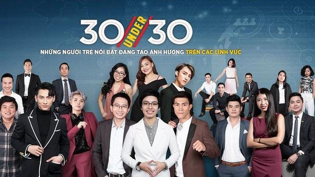 Những gương mặt dưới 30 tuổi nổi bật nhất Việt Nam năm 2018 được Forbes vinh danh.