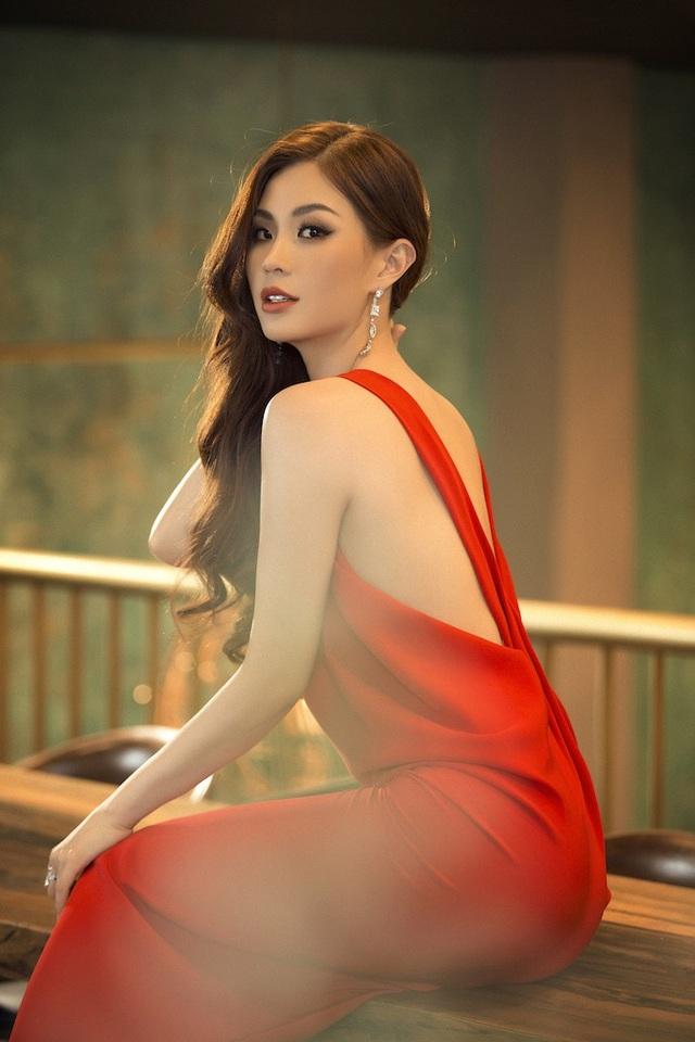 Á hậu Diễm Trang diện trang phục hở bạo dù đã qua một lần sinh nở - 7