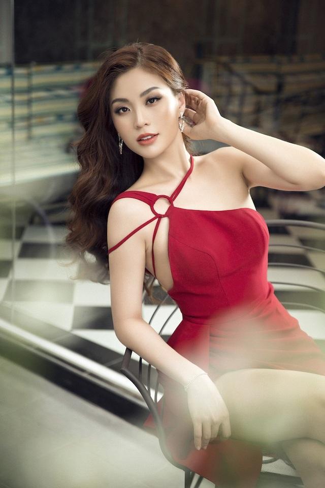 Á hậu Diễm Trang diện trang phục hở bạo dù đã qua một lần sinh nở - 6