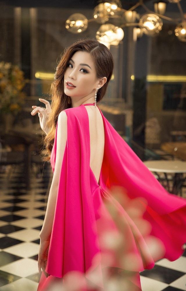Á hậu Diễm Trang diện trang phục hở bạo dù đã qua một lần sinh nở - 2