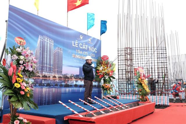 Ông Nguyễn Ngọc Sơn (Phó TGĐ Sunshine Group) phát biểu tại buổi lễ