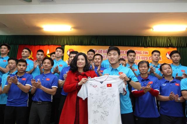 VPMilk cam kết tiếp tục gắn bó bền bỉ với đội tuyển