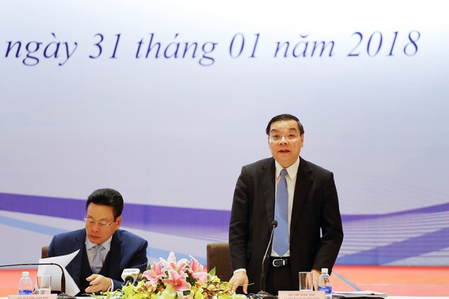 Bộ trưởng Bộ KH&CN Chu Ngọc Anh nhấn mạnh, Bộ KH&CN luôn ưu tiên xem xét các đề xuất của tỉnh Hà Giang trong các Chương trình KHCN thuộc Bộ quản lý.