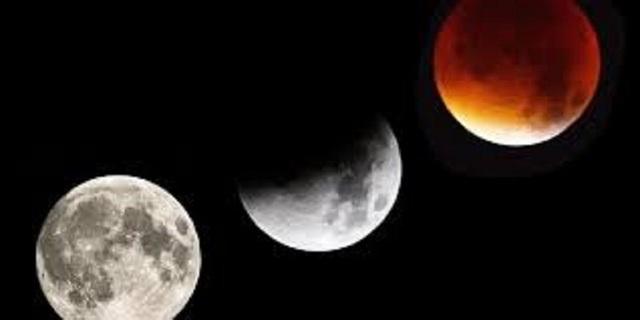 Cả ba hiện tượng Trăng xanh, Siêu trăng và Nguyệt thực sẽ lần đầu tiên hội tụ sau 150 năm. Ảnh: newsstand.google.com