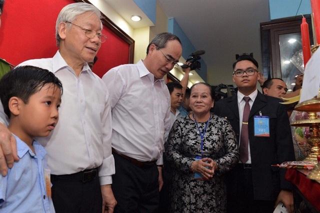 Ông Nguyễn Phú Trọng mong muốn gia đình tiếp tục gìn giữ và phát huy giá trị của ngôi nhà (được công nhận di tích lịch sử - văn hóa cấp quốc gia)