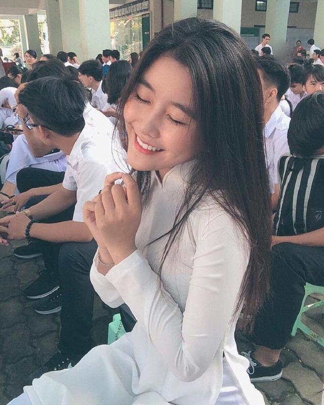 """Võ Ngọc Trân cũng từng được các fan hâm mộ ưu ái đặt cho biệt danh """"thiên thần áo dài""""."""