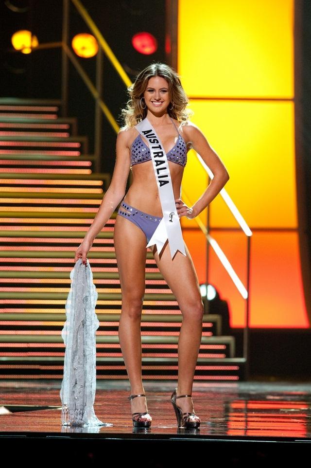 Hoa hậu Úc - Jesinta Campbell - đoạt ngôi vị Á hậu 2
