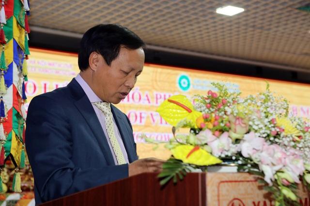 Đại sứ Việt Nam tại Liên bang Nga Ngô Đức Mạnh phát biểu trong chương trình giao lưu