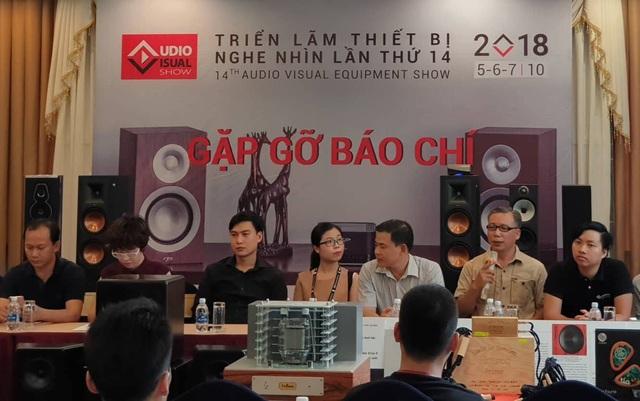 Đại diện Duy Anh Audio nói về loạt sản phẩm sẽ được trưng bày