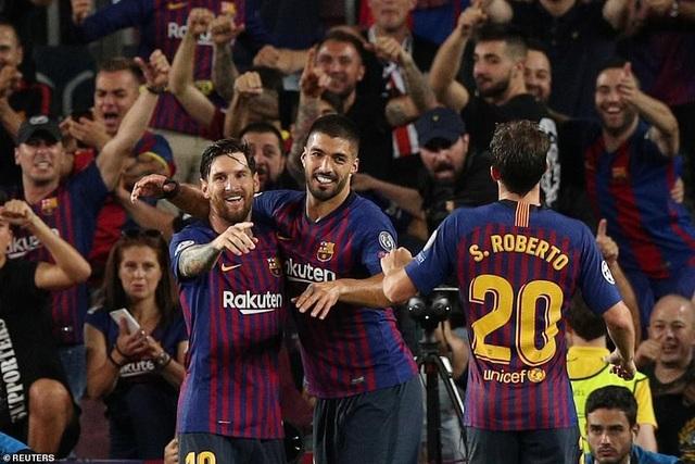Barcelona thể hiện phong độ xuất sắc tại Champions League, trái ngược với sự thất thường ở La Liga