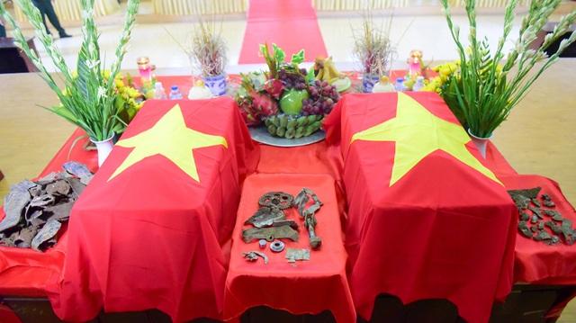 Sau nhiều tháng tìm kiếm, ngày 28/9, lực lượng của Bộ chỉ huy Quân sự tỉnh Thái Nguyên đã khai quật và tìm kiếm được nhiều di vật đi cùng hài cốt hai phi công lái chiếc MIG-21U rợi ở vùng núi Tam Đảo 47 năm trước. Hài cốt hai phi công cùng các di vật hiện được lưu giữ tại Bộ chỉ huy Quân sự tỉnh Thái Nguyên.