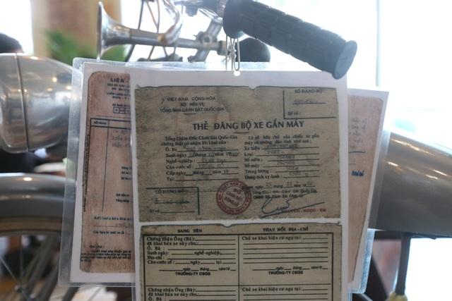 Xe này là món quà của vị khâm sứ người Pháp tặng cho linh mục Ngô Đình Thục, anh trai Tổng thống Việt Nam Cộng hòa Ngô Đình Diệm. Tôi đã phải mất nhiều thời gian, tiền bạc mới có thể mua lại được cổ vật này, anh Hiệp cho biết.