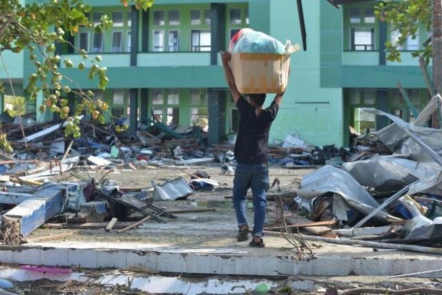 Hàng triệu người ở Sulawesi cần cứu trợ sau thảm họa kép. (Ảnh: AFP)