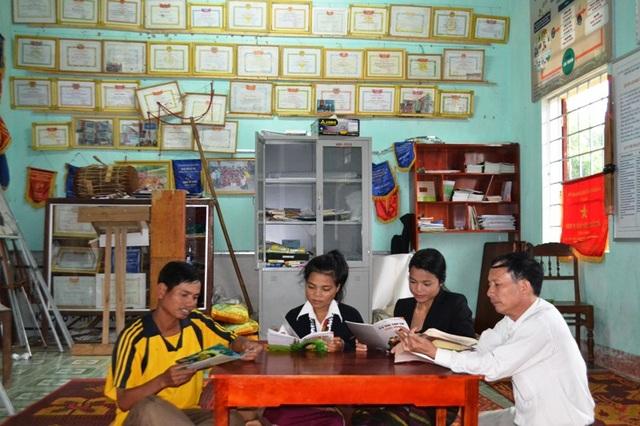 Các Trung tâm học tập cộng đồng thu hút nhiều lao động tham gia học tập.