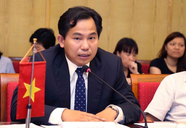 Thứ trưởng Bộ Kế hoạch và Đầu tư Lê Quang Mạnh.