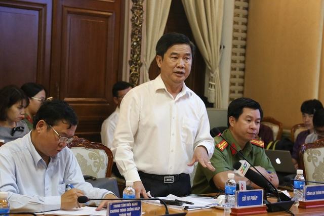 Giám đốc Sở Tư pháp TPHCM Nguyễn Văn Hạnh cho biết vụ việc được phát hiện sớm là sự cố gắng của chính quyền địa phương