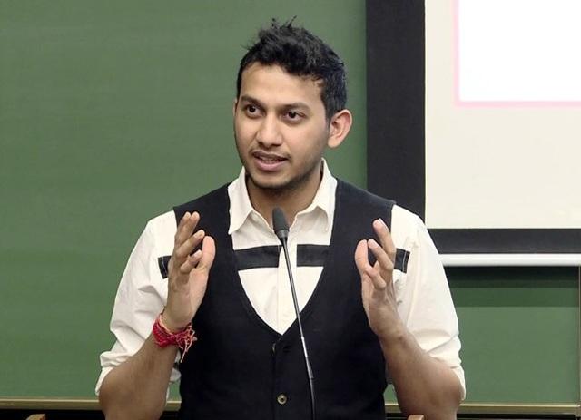 Ritesh Agarwal thường xuất hiện trên các chương trình truyền hình và là tấm gương khởi nghiệp tại Ấn Độ. Ảnh: India Time.
