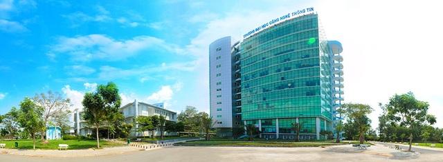 Quang cảnh Trường Đại học Công nghệ thông tin - ĐHQG TP.HCM