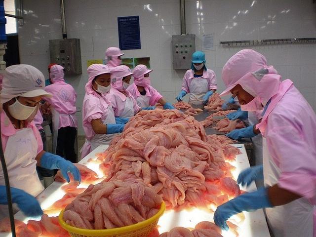 Cuộc chiến thương mại Mỹ-Trung có thể tạo ra cơ hội để VN tăng xuất khẩu vào Mỹ, đặc biệt là sản phẩm cá tra. Ảnh: Gia Tuệ