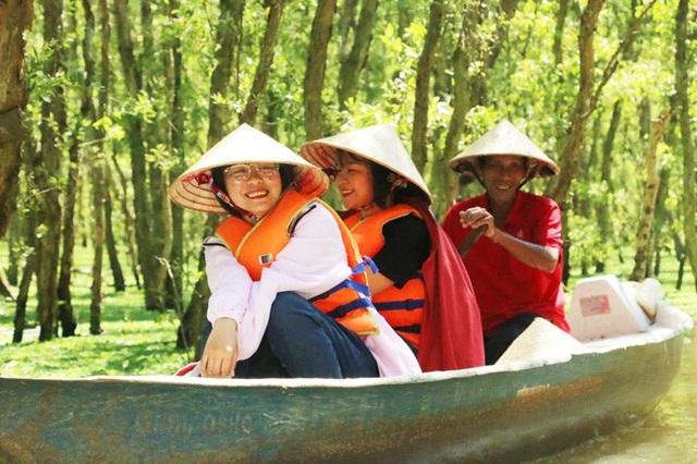An Giang: Rừng tràm Trà Sư đẹp nhất mùa nước nổi - 12