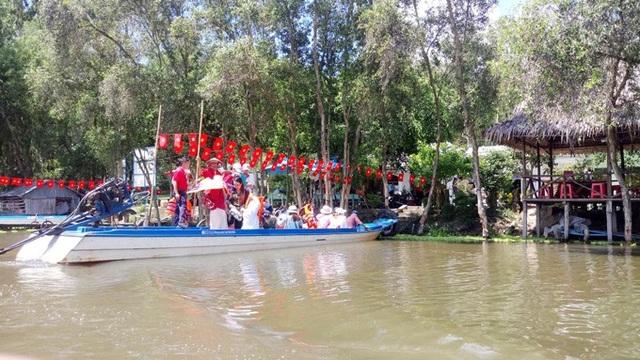 An Giang: Rừng tràm Trà Sư đẹp nhất mùa nước nổi - 2