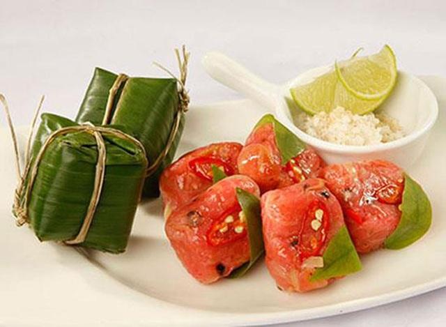 Vỏ bưởi là nguyên liệu làm nên món nem chay, đặc sản của người dân Tây Ninh.