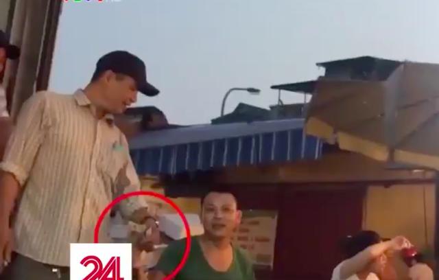 Hiện tượng ở chợ Long Biên đang được Công an TP Hà Nội chỉ đạo làm rõ