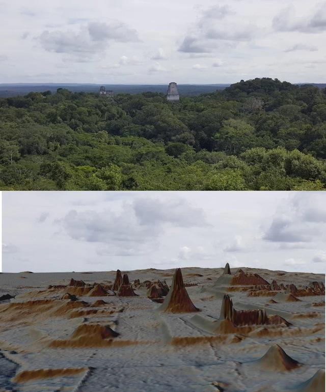 Phát lộ dấu tích nền văn minh Maya dưới tán rừng ở Guatemala - 1