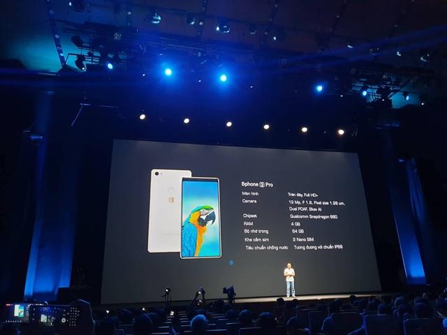 Bphone 3 có thiết kế tràn đáy, camera ấn tượng, giá từ 6,9 triệu đồng - 14