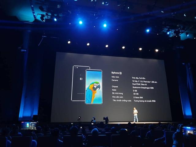 Bphone 3 có thiết kế tràn đáy, camera ấn tượng, giá từ 6,9 triệu đồng - 15