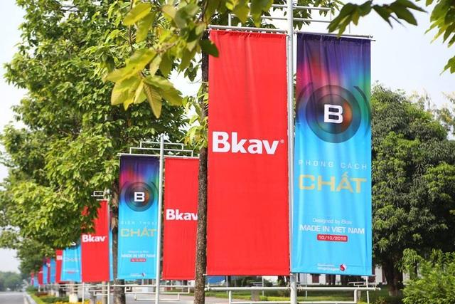 Bkav đã chuẩn bị sẵn sàng cho màn ra mắt đang rất được chờ đợi.