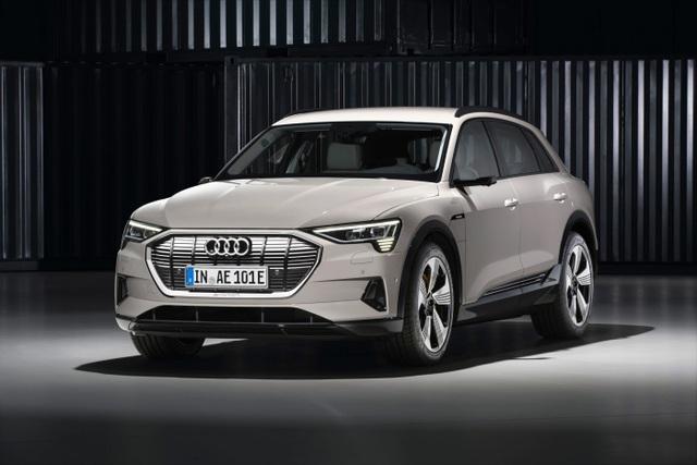 e-tron là mẫu xe chạy điện được sản xuất đại trà đầu tiên của Audi.