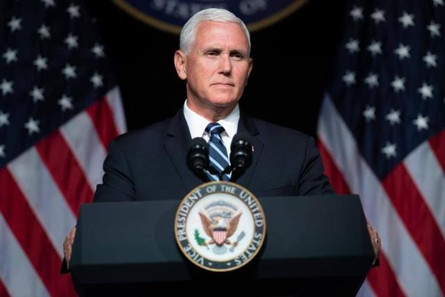 Phó Tổng thống Mỹ Mike Pence (Ảnh: Reuters)