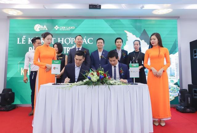 Cenland và Khai sơn ký kết hợp tác đầu tư vào dự án Khai Sơn Town.