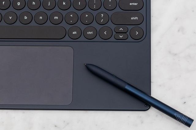 Bàn phím rời Pixel Slate Keyboard được tích hợp cả chuột cảm ứng trackpad